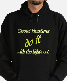 Ghost Hunters Do It Lights Out Hoodie (dark)