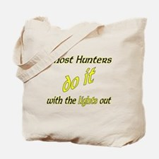 Ghost Hunters Do It Lights Out Tote Bag