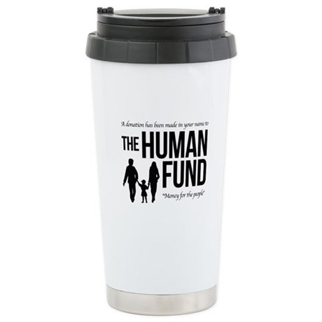 The Human Fund Seinfield Stainless Steel Travel Mu