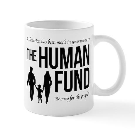 The Human Fund Seinfield Mug