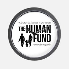 The Human Fund Seinfield Wall Clock