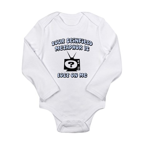 Seinfield Metaphor Long Sleeve Infant Bodysuit