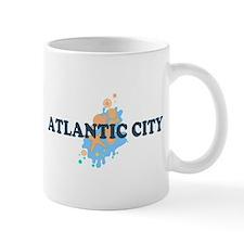 Atlantic City NJ - Seashells Design. Mug