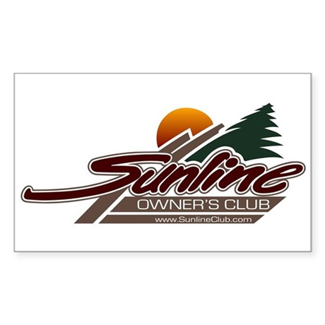 Sunline Owners Club Sticker (Rectangle)