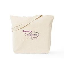 Unique California girl Tote Bag