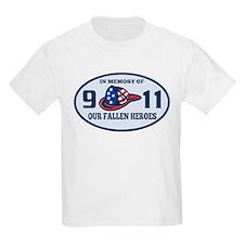 9-11 fireman firefighte T-Shirt
