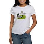 Snowy Call Ducks Women's T-Shirt