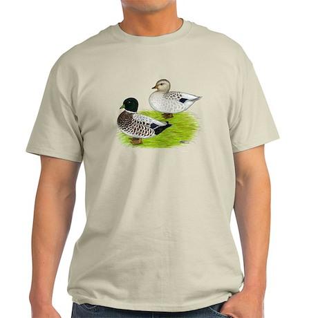 Snowy Call Ducks Light T-Shirt
