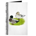 Snowy Call Ducks Journal