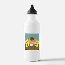 Fruitful O's (No Text) Water Bottle