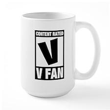 V Fan Mug