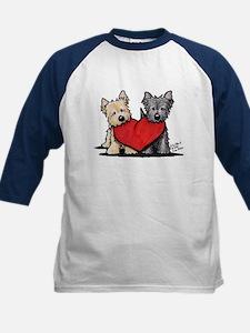 Cairn Terrier Heartfelt Duo Tee