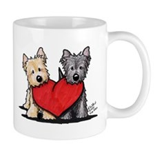 Cairn Terrier Heartfelt Duo Mug
