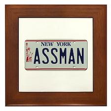 Seinfield Assman Framed Tile