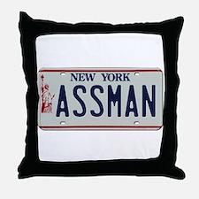 Seinfield Assman Throw Pillow