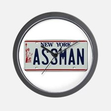 Seinfield Assman Wall Clock