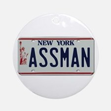 Seinfield Assman Ornament (Round)