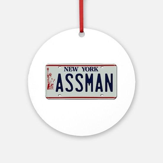 Seinfield Assman Ornament (Round)