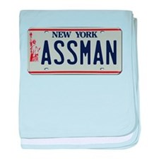 Seinfield Assman baby blanket