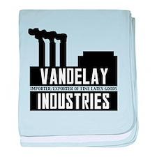 Vandelay Industries Seinfield baby blanket