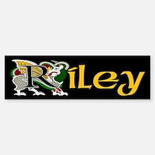 Riley Celtic Dragon Bumper Bumper Bumper Sticker