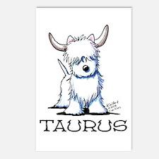 Taurus Westie Postcards (Package of 8)