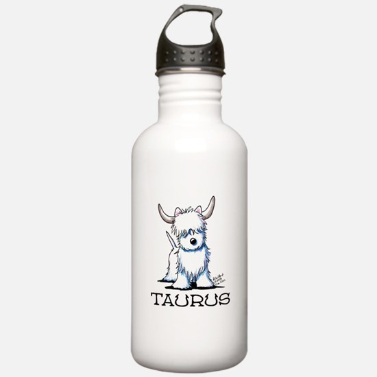 Taurus Westie Water Bottle