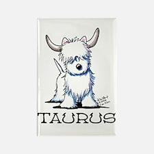 Taurus Westie Rectangle Magnet