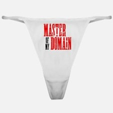 Master of My Domain Seinfield Classic Thong