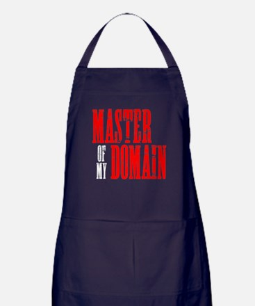 Master of My Domain Seinfield Apron (dark)