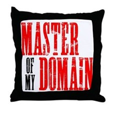 Master of My Domain Seinfield Throw Pillow