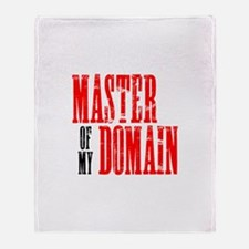 Master of My Domain Seinfield Throw Blanket