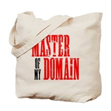 Master of My Domain Seinfield Tote Bag