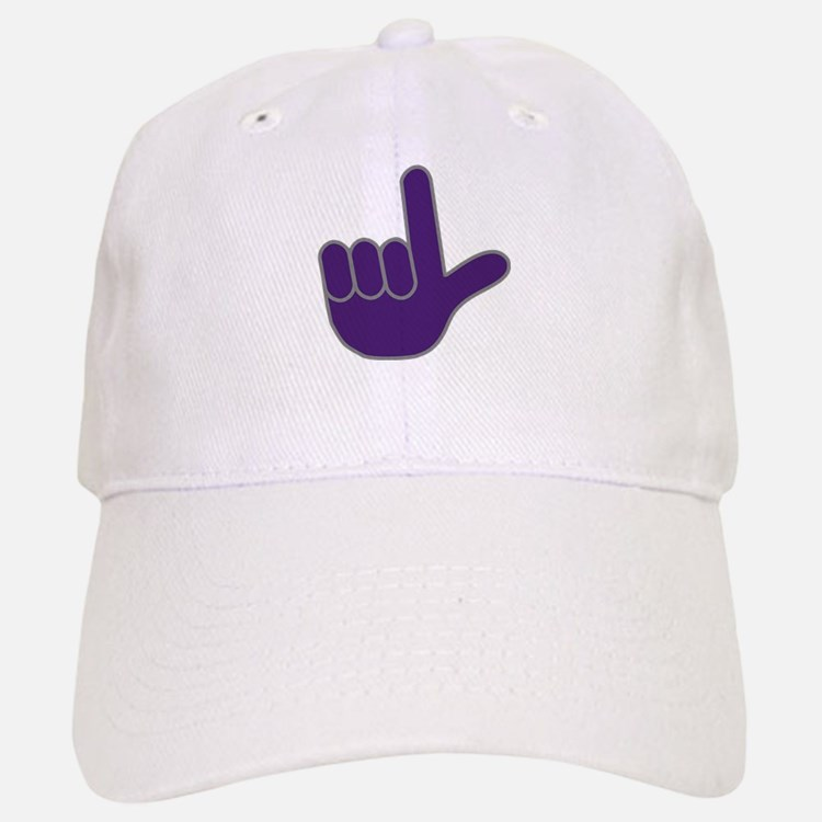 Big Purple Loser Baseball Baseball Cap