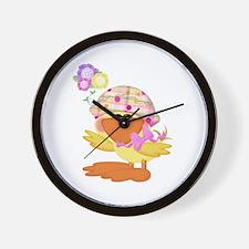 Baby Quackups 1 Wall Clock