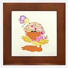 Baby Quackups 1 Framed Tile