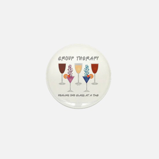 Group Therapy Mini Button
