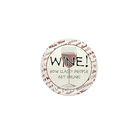 WINE Mini Button (10 pack)
