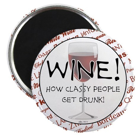 "WINE 2.25"" Magnet (10 pack)"