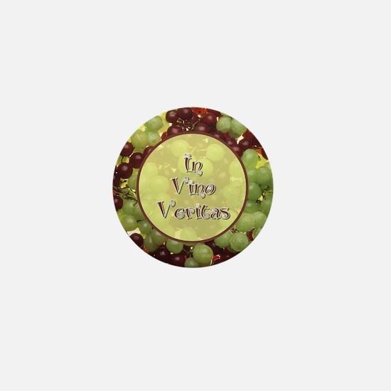 In Vino Veritas Mini Button