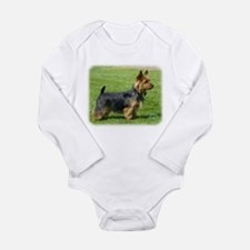 Australian Terrier 9R044D-62 Long Sleeve Infant Bo