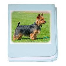 Australian Terrier 9R044D-62 baby blanket