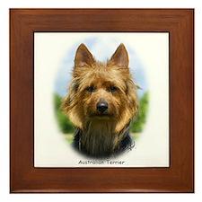 Australian Terrier 9R044D-19 Framed Tile