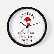 Dear Santa... Wall Clock