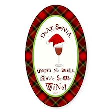 Dear Santa (Plaid) Decal