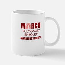 March PE Awareness Month Mug