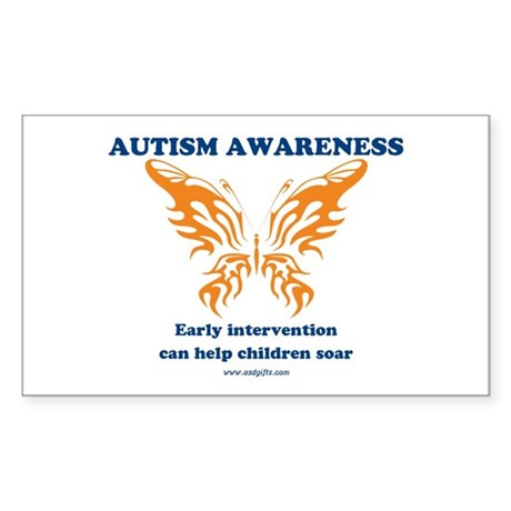 Early Intervention Sticker (Rectangle 10 pk)