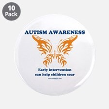 "Early Intervention 3.5"" Button (10 pack)"