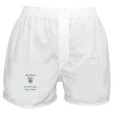 Autism Think Boxer Shorts