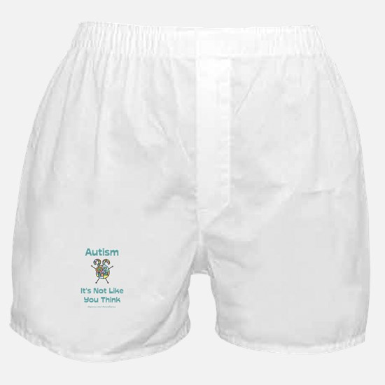 Autism Think Boxer Shorts